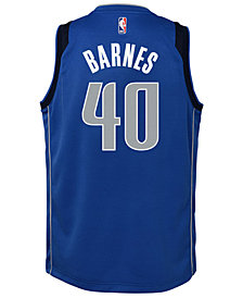 Nike Harrison Barnes Dallas Mavericks Icon Swingman Jersey, Big Boys (8-20)