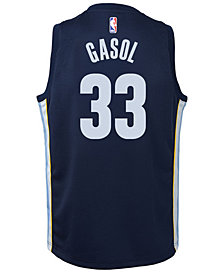 Nike Marc Gasol Memphis Grizzlies Icon Swingman Jersey, Big Boys (8-20)