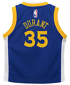Nike Kevin Durant Golden State Warriors Icon Replica Jersey, Toddler Boys (2T-4T)