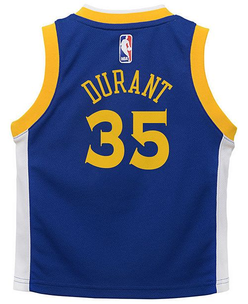 big sale 47e18 bb348 Nike Kevin Durant Golden State Warriors Icon Replica Jersey ...