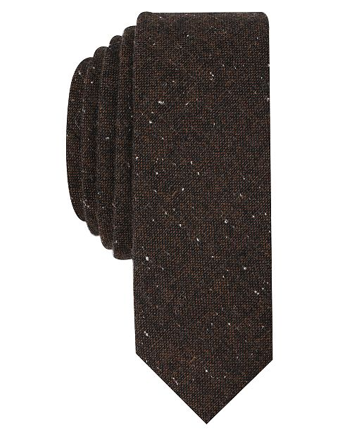 Original Penguin Men's Fawne Donegal Skinny Tie
