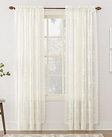 "Lichtenberg No. 918 Alison Floral Lace 58"" x 84"" Rod-Pocket Window Panel"