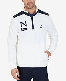 Nautica Men's Heritage Quarter-Zip Pullover