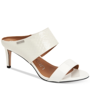 Calvin Klein Sandals WOMEN'S CECILY WIDE-STRAP SANDALS WOMEN'S SHOES