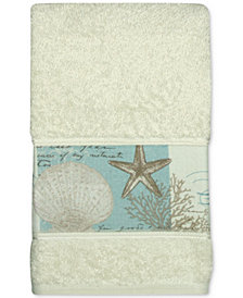 Bacova Coastal Moonlight Cotton Printed Hand Towel