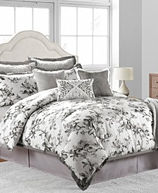 CLOSEOUT! Hillcrest 10-Piece Comforter Sets