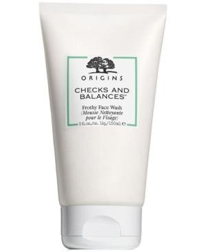 Origins Checks and Balances Frothy face wash 5 oz.