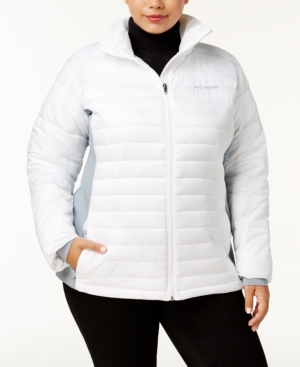 Columbia  PLUS SIZE POWDER PILLOW QUILTED JACKET