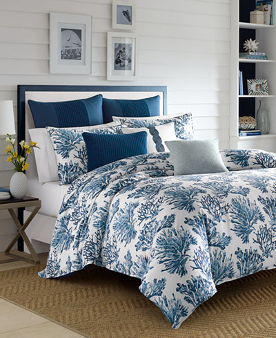 Nautica Cape Coral Duvet Cover Sets - Bedding Collections - Bed ...