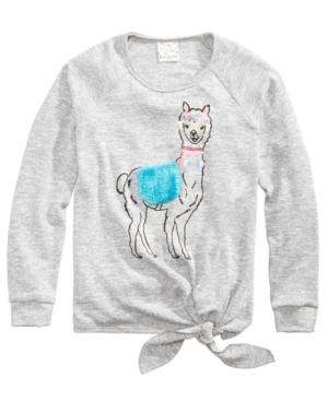 Belle Du Jour Llama Sweater,...