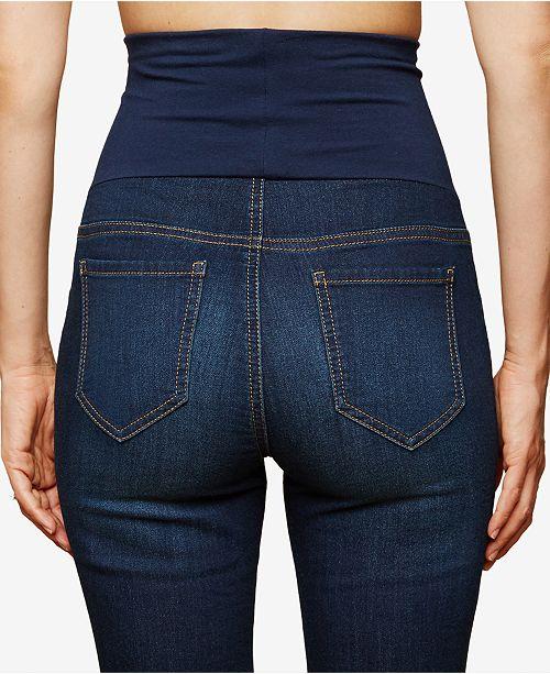 f64b055aea7b8 Motherhood Maternity BOUNCEBACK Post Pregnancy Skinny Jeans ...