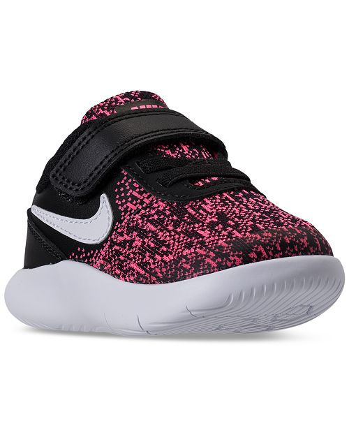 42ddbcad1f38a8 Nike Toddler Girls  Flex Contact Running Sneakers from Finish Line ...