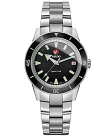 Unisex Swiss Automatic Hyperchrome Stainless Steel Bracelet Watch 37.3mm
