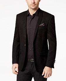 Tallia Men's Slim-Fit Black Sparkle Dinner Jacket
