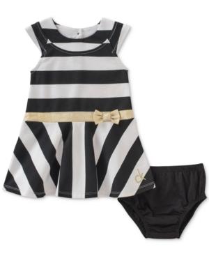 Calvin Klein Striped Dress Baby Girls (024 months)