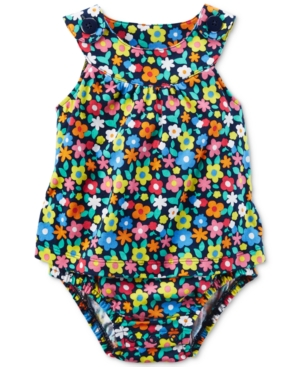 Carters FloralPrint Cotton Skirted Sunsuit Baby Girls (024 months)