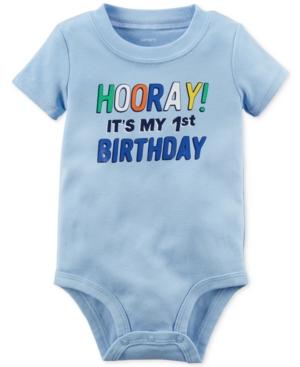 Carter's Hooray 1st Birthday...