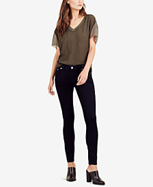 True Religion Casey Low Rise Skinny Jeans in Indigo Origin