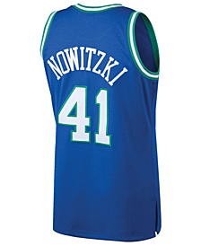 Men's Dirk Nowitzki Dallas Mavericks Hardwood Classic Swingman Jersey