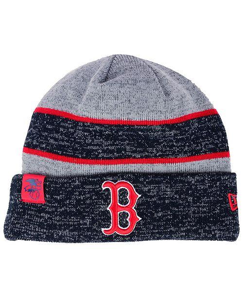 262fe729ae6 New Era Boston Red Sox On Field Sport Knit Hat - Sports Fan Shop By ...