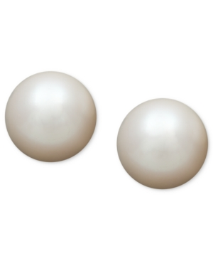 Belle de Mer Pearl Earrings, 14k Gold Aa Akoya Cultured Pearl Stud Earrings (5-1/2mm)