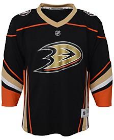 Authentic NHL Apparel Anaheim Ducks Blank Replica Jersey, Big Boys (8-20)