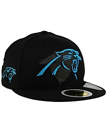 New Era Carolina Panthers State Flective Metallic 59FIFTY Fitted Cap