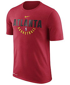 Nike Men's Atlanta Hawks Dri-FIT Cotton Practice T-Shirt