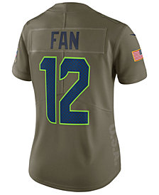Nike Women's Seattle Seahawks  Salute To Service Jersey