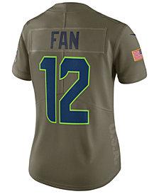Nike Women's Seattle Seahawks  Salute To Service Jersey