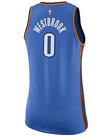 Women's Russell Westbrook Oklahoma City Thunder Swingman Jersey