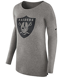 Nike Women's Oakland Raiders Cozy Long Sleeve T-Shirt