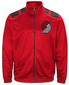 G-III Men's Sports Portland Trail Blazers Broad Jump Track Jacket