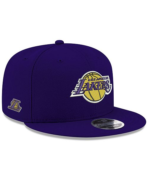 more photos 476b5 e0545 ... New Era Los Angeles Lakers Basic Link 9FIFTY Snapback Cap ...