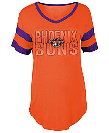 5th & Ocean Women's Phoenix Suns Hang Time Glitter T-Shirt