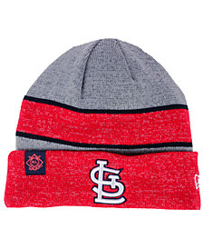 New Era St. Louis Cardinals On Field Sport Knit Hat