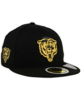 60a61790e3a New Era Chicago Bears State Flective Metallic 59FIFTY Fitted Cap