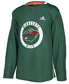 adidas Men's Minnesota Wild Authentic Pro Practice Jersey