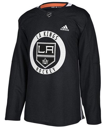 adidas Men's Los Angeles Kings Authentic Pro Practice Jersey