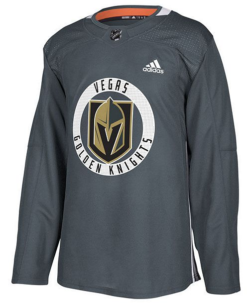 ... adidas Men s Vegas Golden Knights Authentic Pro Practice Jersey ... 3c5a04bc3