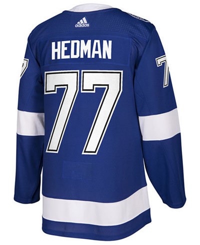 adidas Men's Victor Hedman Tampa Bay Lightning Authentic Player Jersey