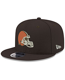 New Era Cleveland Browns Team Color Basic 9FIFTY Snapback Cap