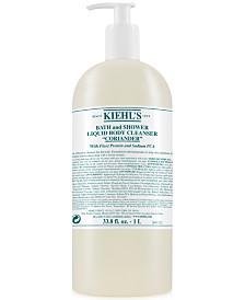 Kiehl's Since 1851 Bath & Shower Liquid Body Cleanser - Coriander, 33.8 fl. oz.