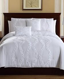 Megan 5-Pc. Queen Comforter Set