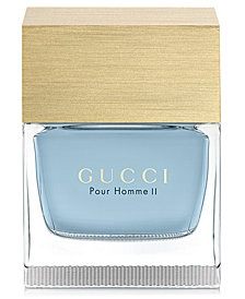 Gucci Men's Pour Homme II Eau de Toilette Spray, 3.3 oz.