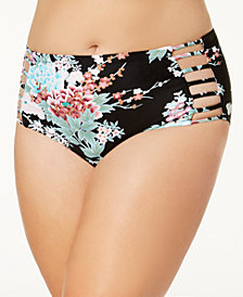 Raisins Curve Trendy Plus Kyoto Strappy Bikini Bottoms