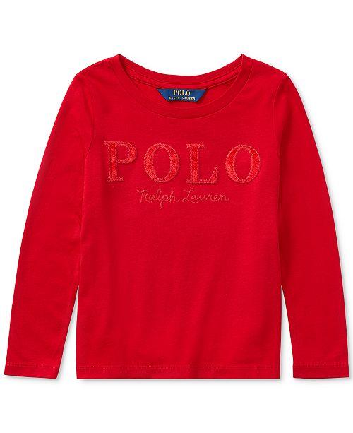 7b05ca5de Polo Ralph Lauren Ralph Lauren Cotton Long-Sleeve T-Shirt