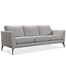"Renleigh 86"" Leather Sofa, Created for Macy's"