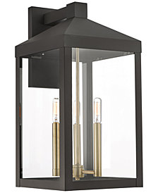 Livex Nyack 3-Light Outdoor Wall Lantern