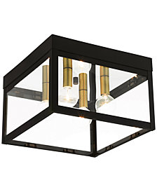 Livex Nyack 4-Light Flush Mount